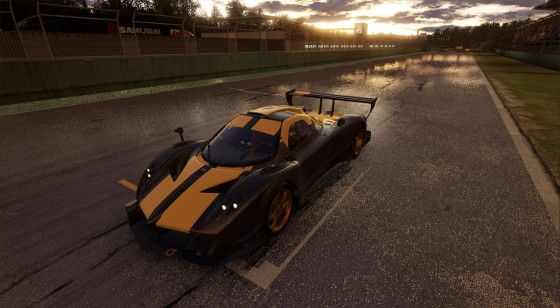 project cars rainy