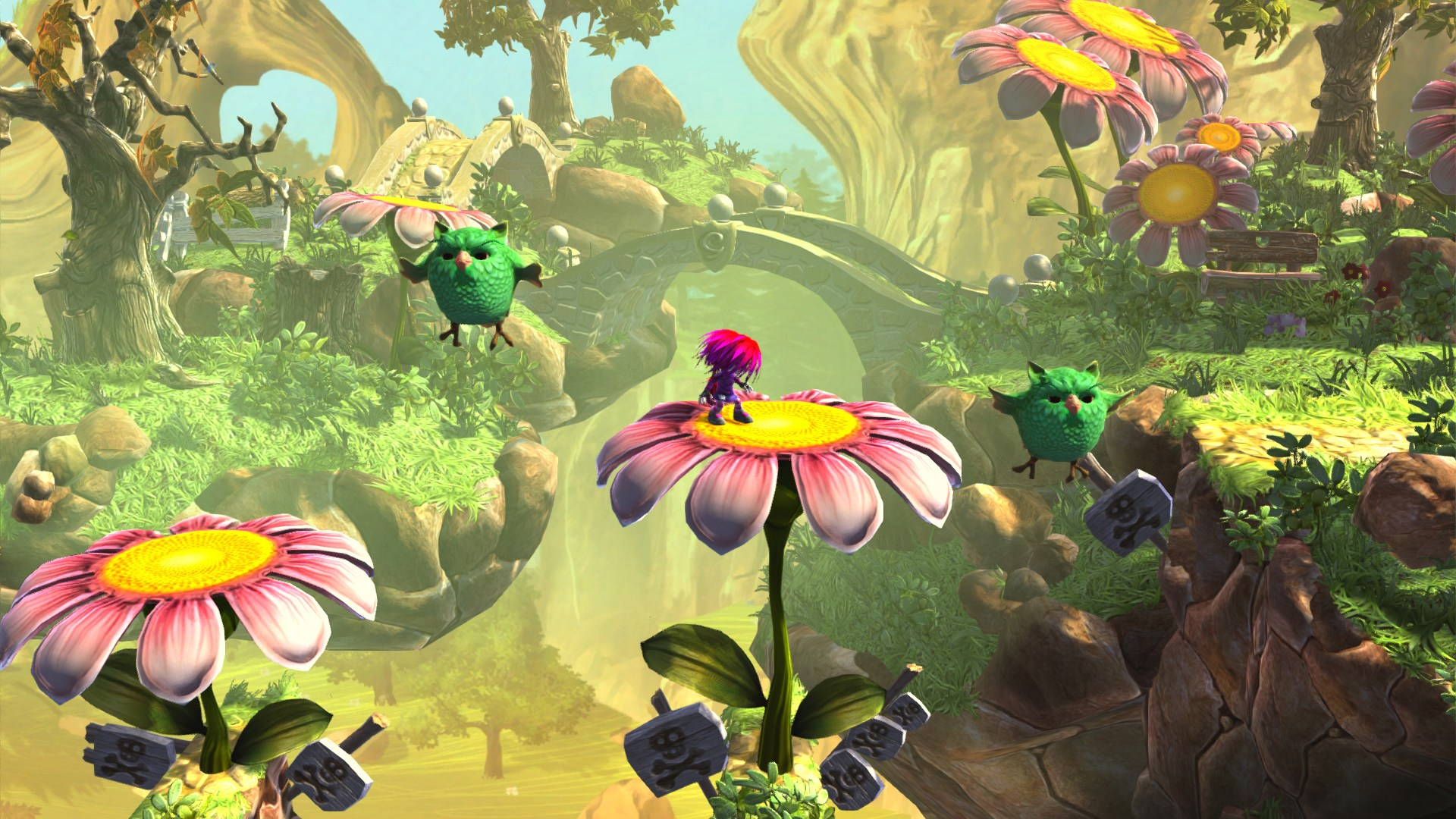 Wii U Indie Game Review: Giana Sisters – Twisted Dreams