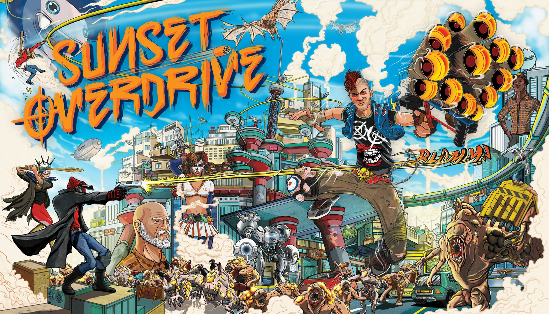 New challenges for Sunset Overdrive challengers!
