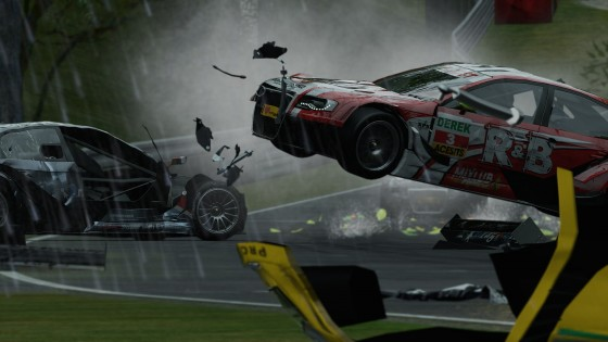 Project cars crash