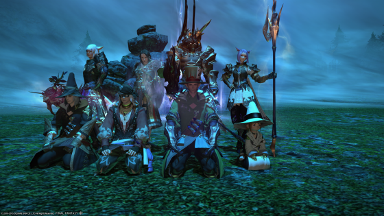Garuda- the Primal  God for Wind- was defeated. We celebrate with photos!