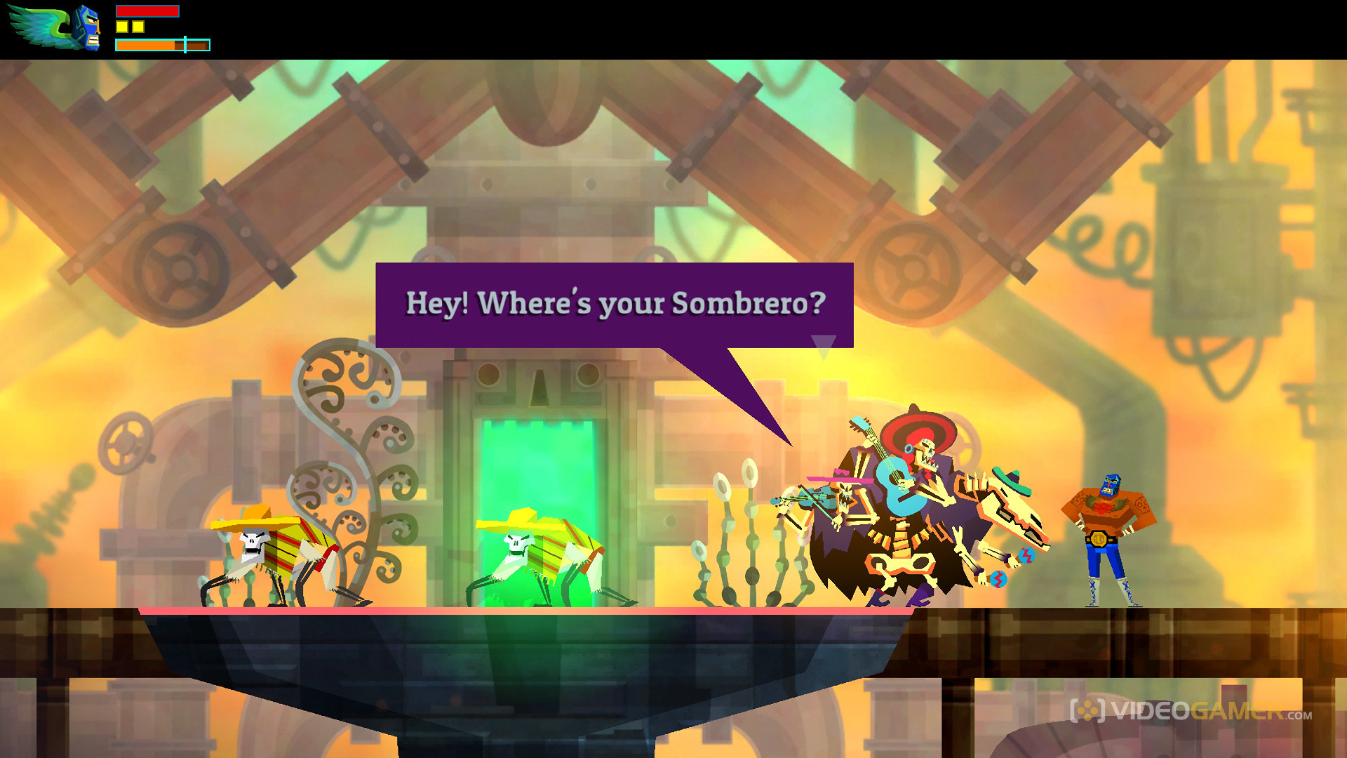 Wii U Indie Game Review: Guacamelee! Super Turbo Championship Edition