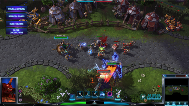 Closed Beta For Heroes Of The Storm Has Begun