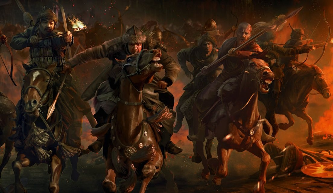Total War: ATTILA: Have you seen the Black Horse yet?