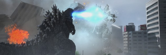 Godzilla stomps out with some new screenies