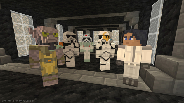Star Wars Rebels Skin Pack Available For Xbox One Version Of Minecraft