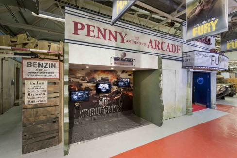 The Fury exhibition at the Tank Museum