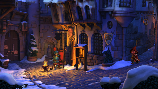 Get A Glimpse Of The Book of Unwritten Tales 2's Gameplay