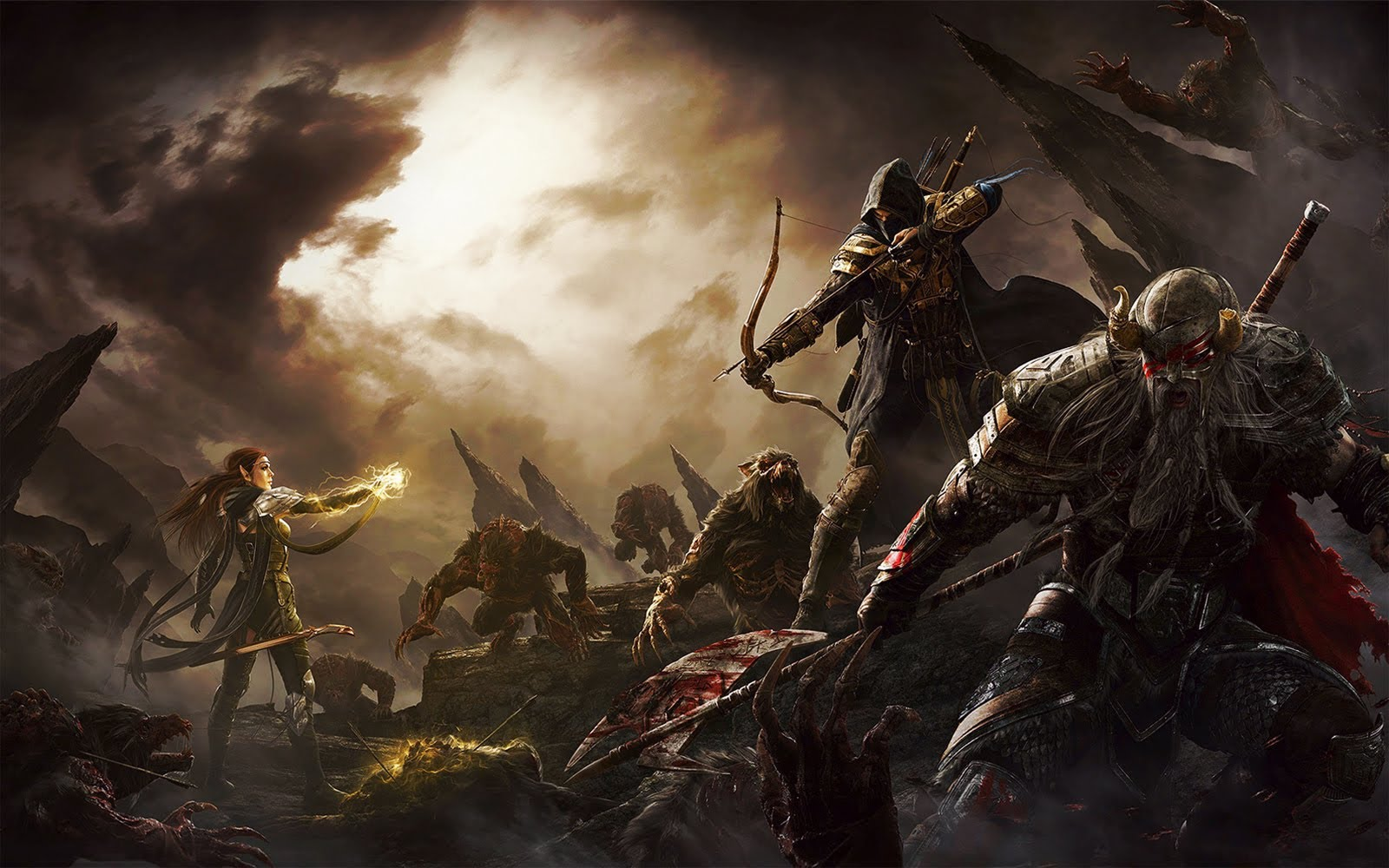 The Elder Scrolls Online: Tamriel Unlimited Now launches on PC & Mac!