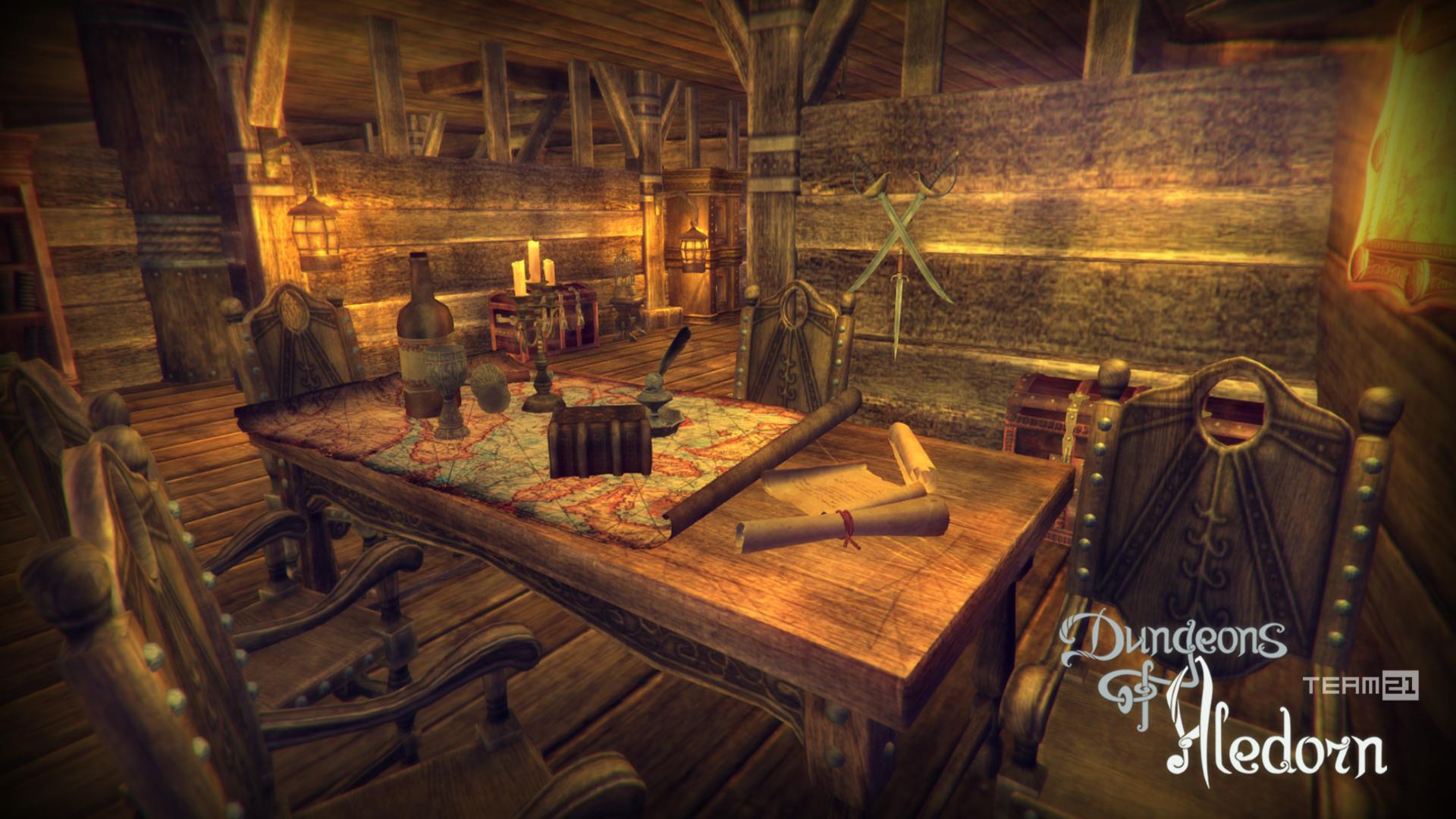 Dungeons Of Aledorn Reached 50% Of Its Target Goal On Kickstarter