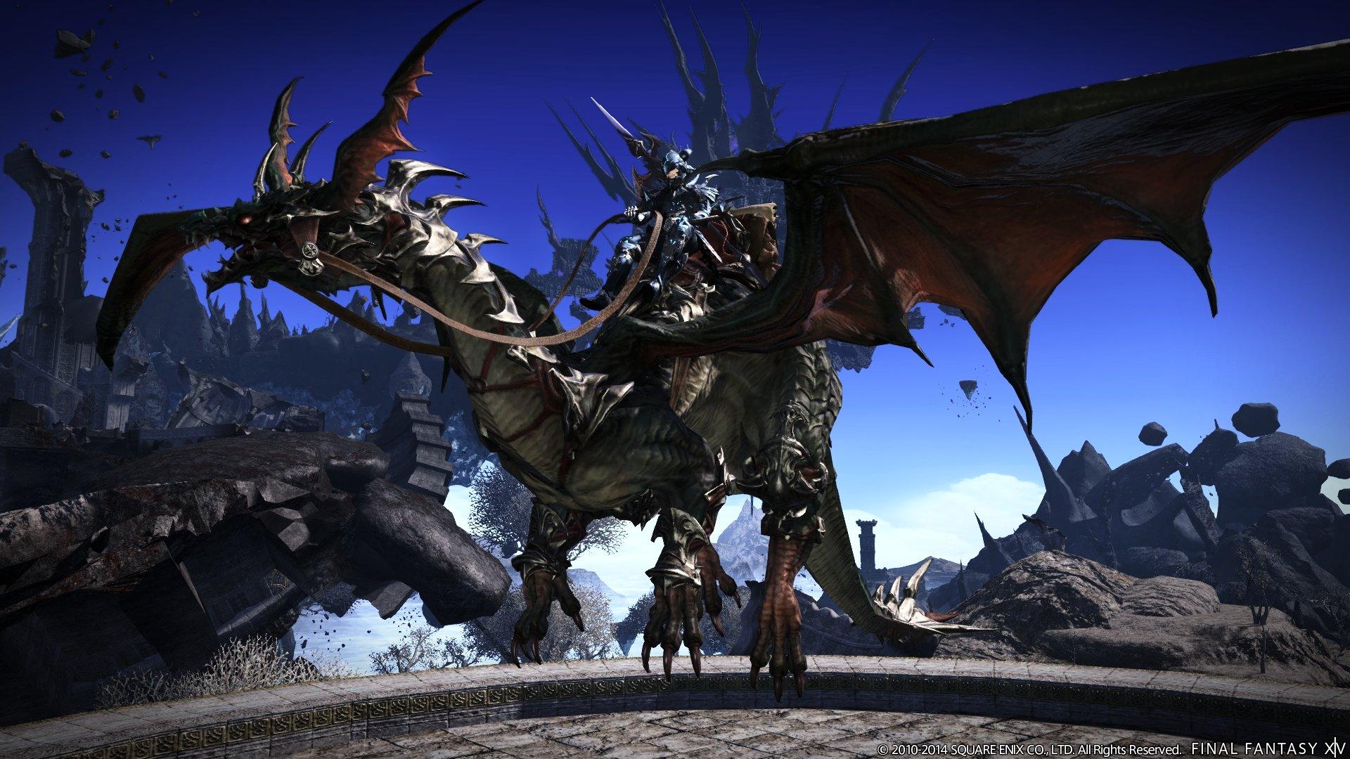 Final Fantasy XIV: Heavensward benchmark is live