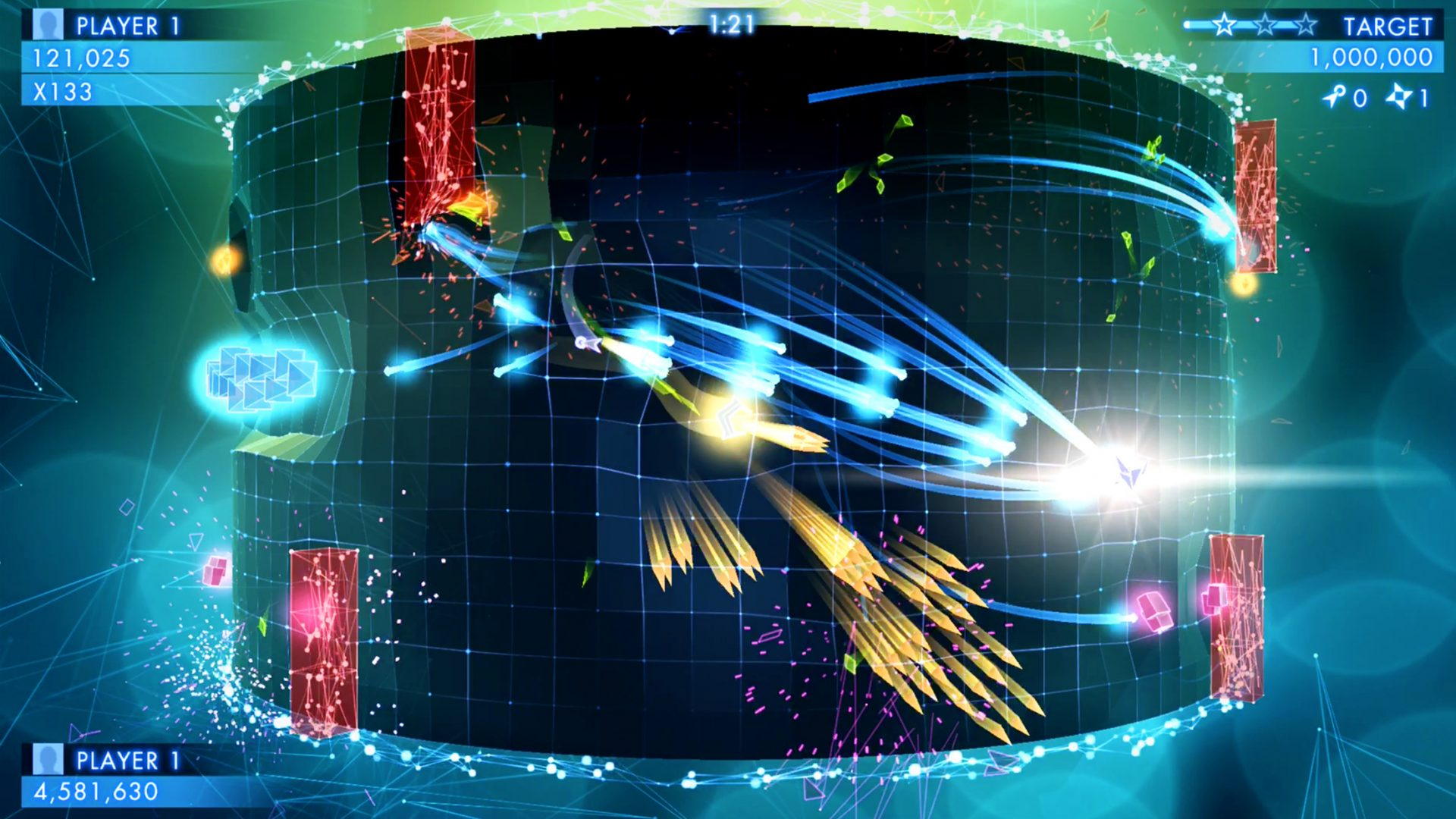 Geometry Wars 3: Dimensions Now Available For iOS Devices