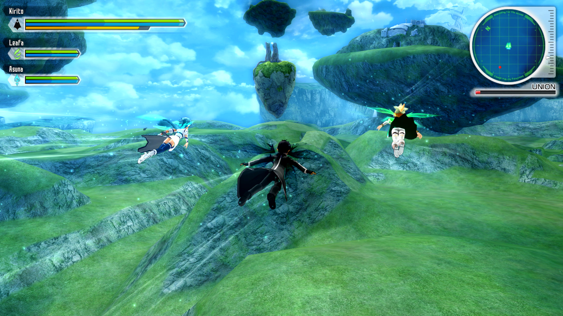 Sword Art Online Re: Hollow Fragment & Sword Art Online: Lost Song Coming To Europe