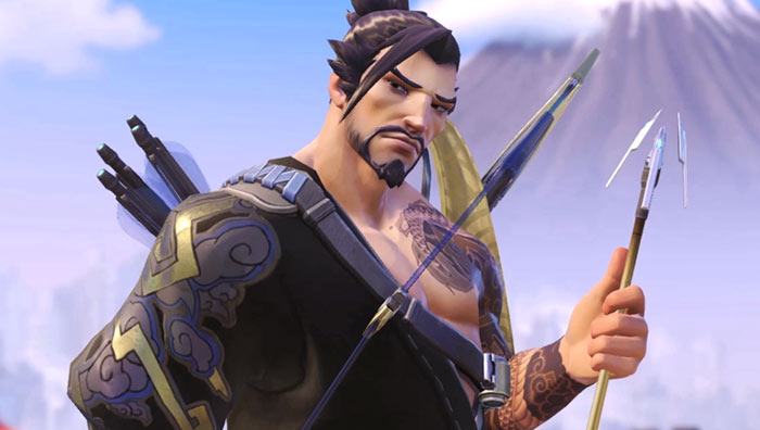 Treat your eyes to unedited Overwatch glory. Featuring Hanzo