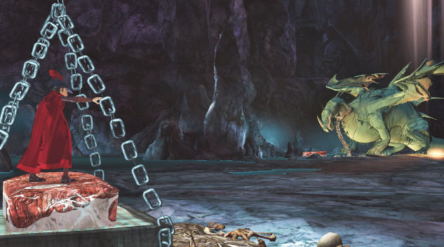 Hand Painted Cells Bring New King's Quest Game to Life