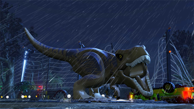 Rampage Through LEGO Jurassic World Next Month