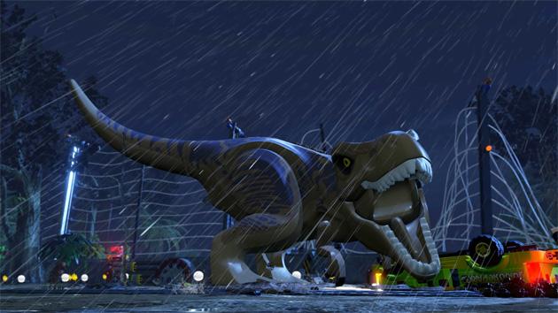 Rampage Through LEGO Jurassic World Next Month