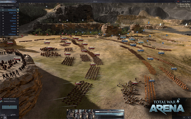 First Gameplay Trailer For Total War: Arena