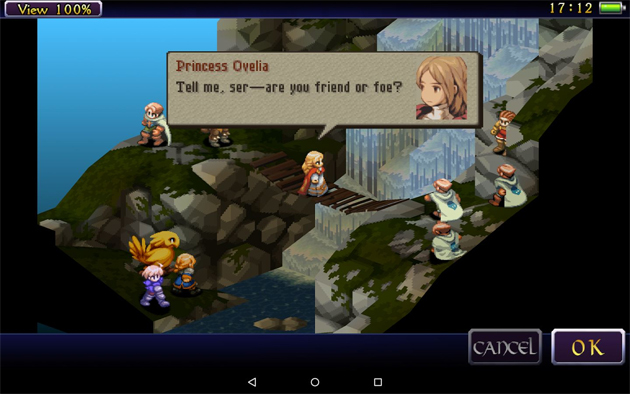 Final Fantasy Tactics: The War Of The Lions Now Available For Android Devices