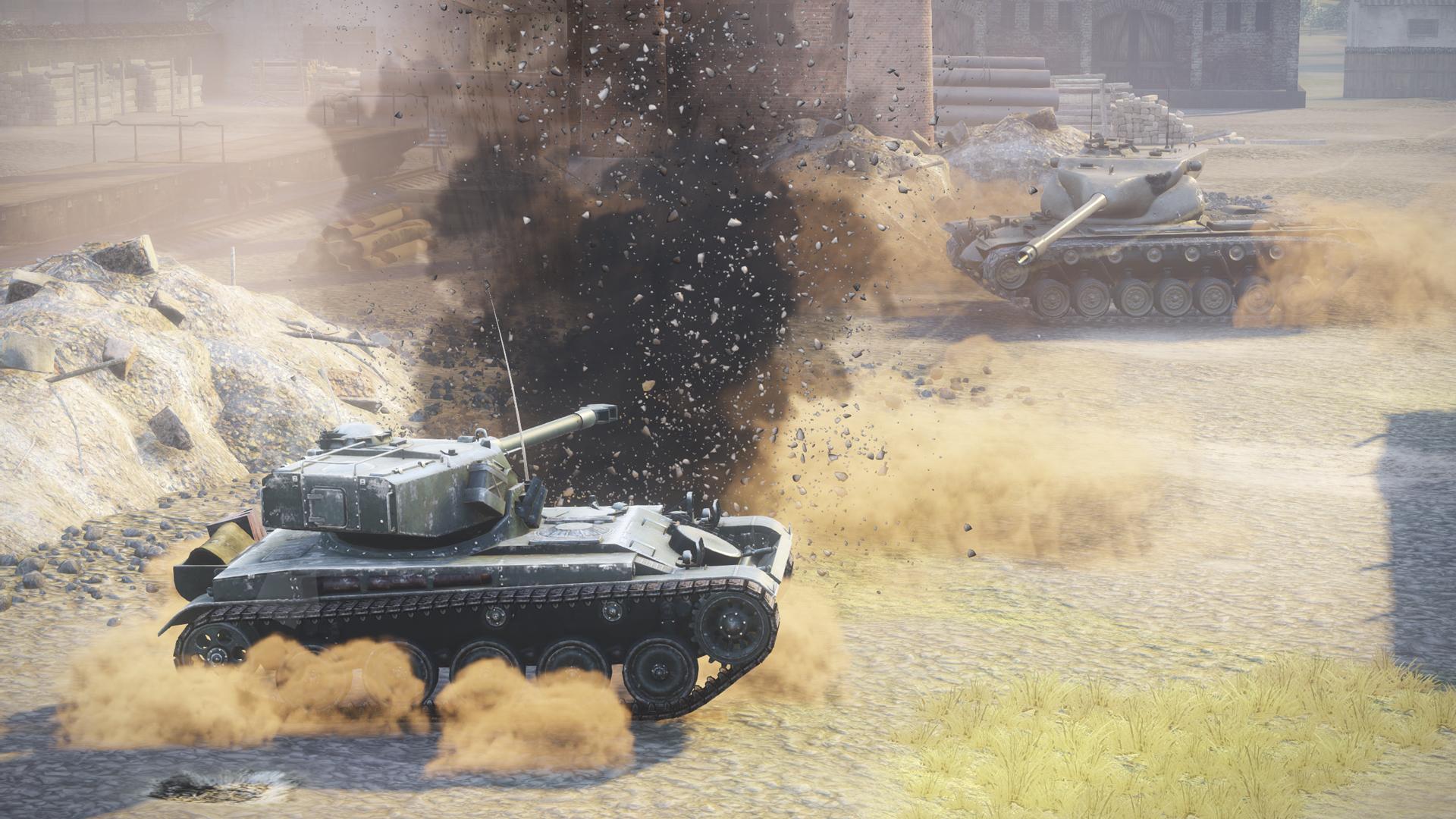 World of Tanks Firing Onto Xbox One Next Month