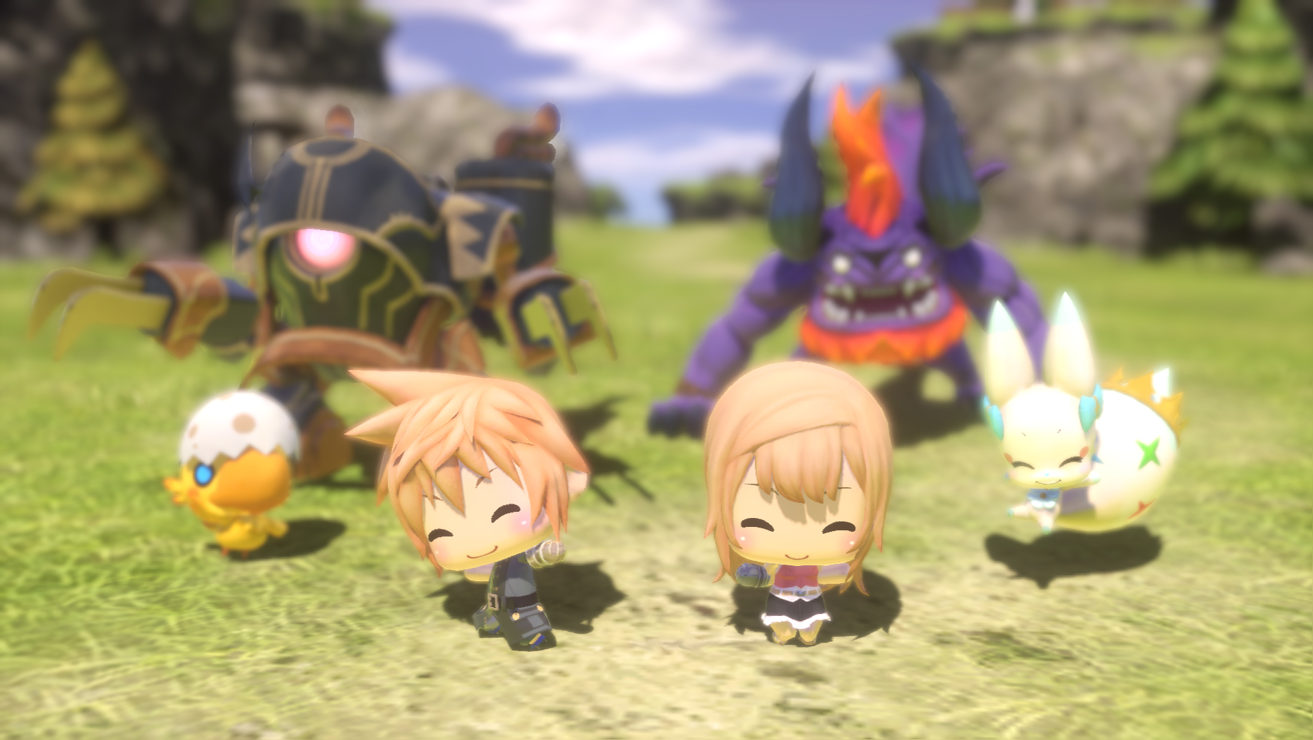 The New World of Final Fantasy Trailer Is Adorable