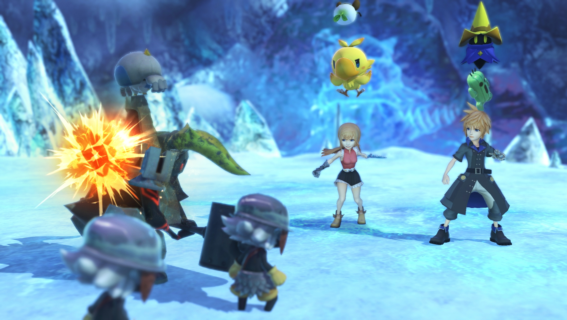 EGX 2016: Hands on with World of Final Fantasy