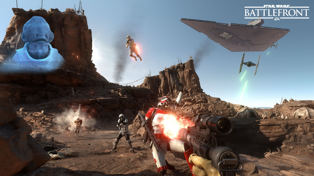 E3 2015: Star Wars Battlefront Survival Missions