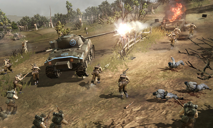 Company of Heroes: The British Forces Dev Diary 1