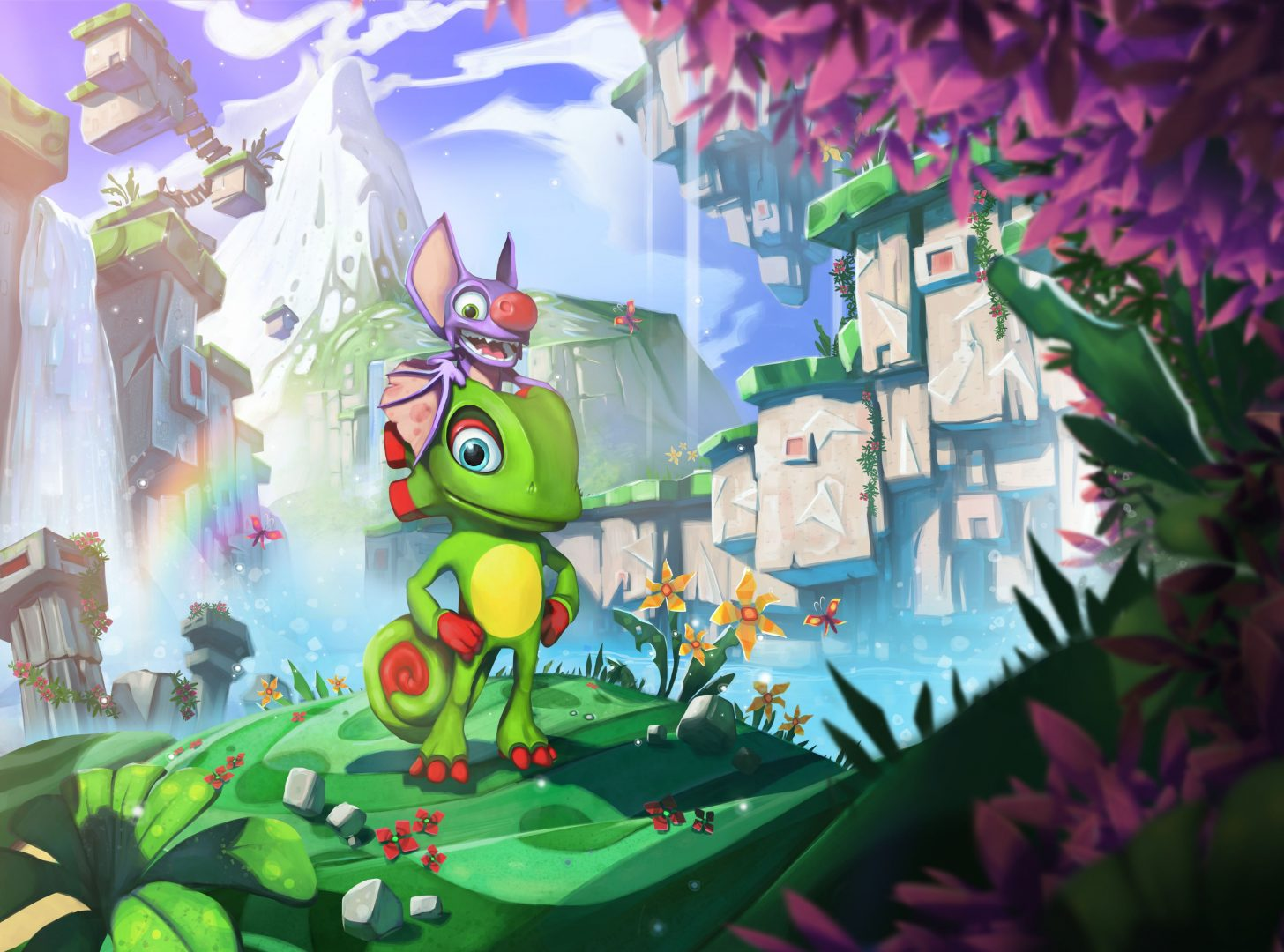 Yooka-Laylee devs announce Team 17 as publisher
