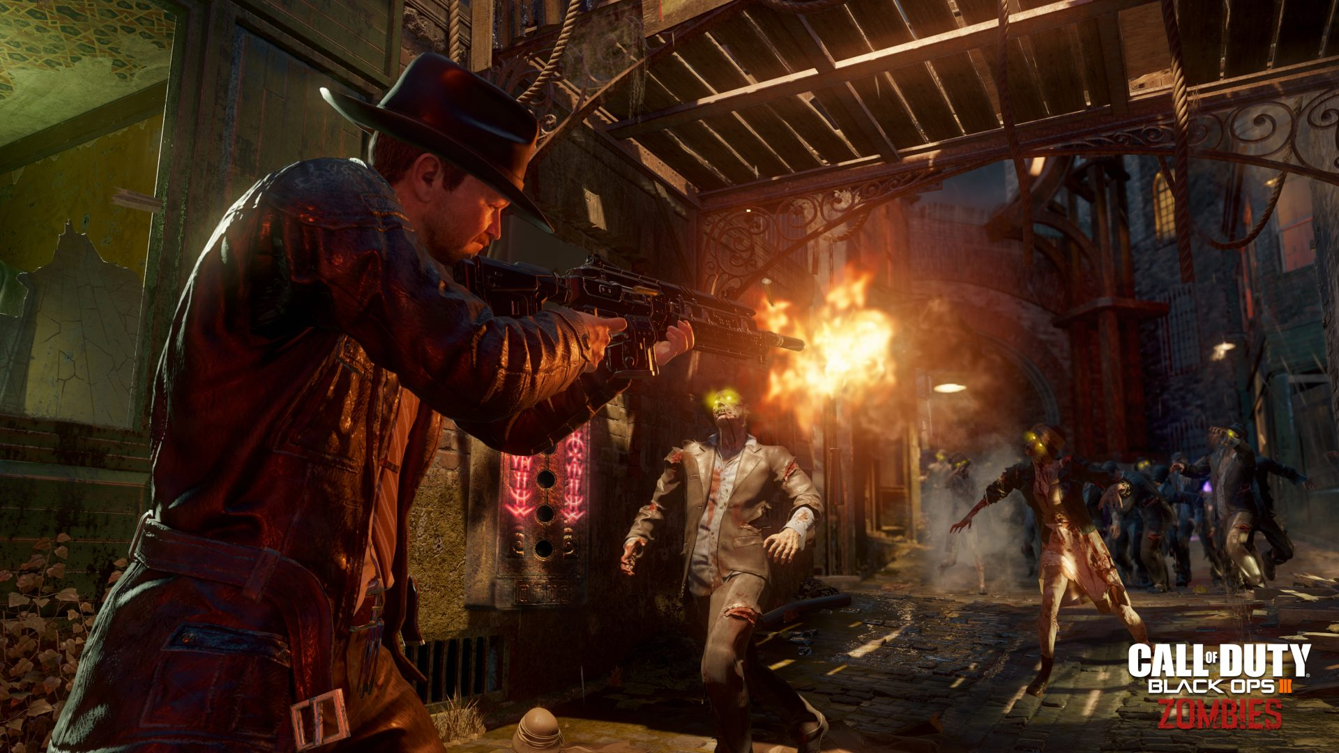 Call Of Duty: Black Ops III Shadows Of Evil Zombies Trailer