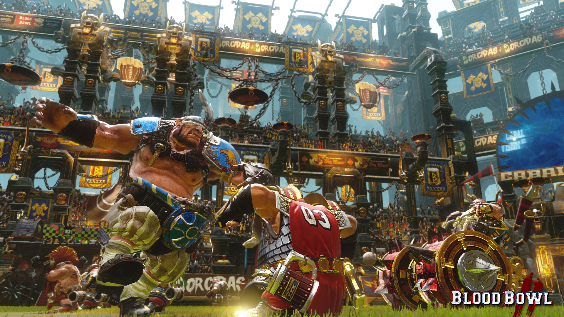 New Blood Bowl 2 Gameplay Trailer Puts The Spotlight On The Dark Elves