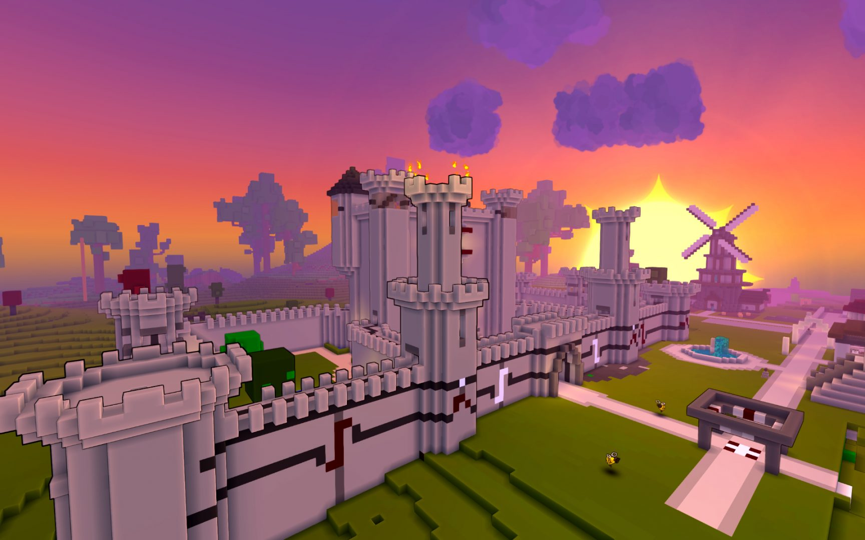 Trion Worlds' latest MMO, Trove, has launched