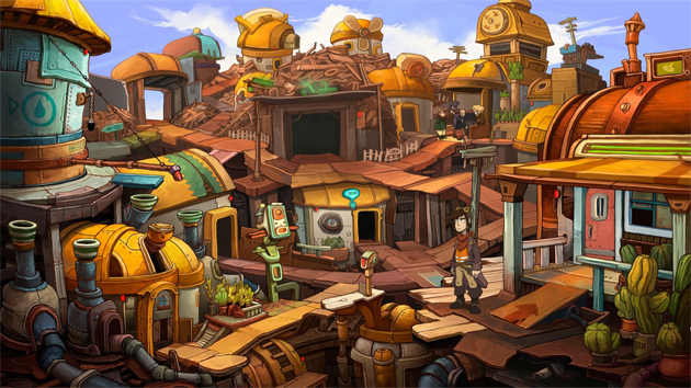Point And Click Adventure Deponia Coming To iPad In August