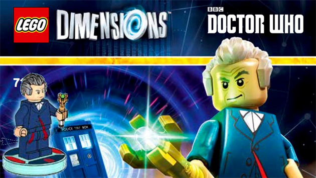 Doctor Who Travels To LEGO Dimensions