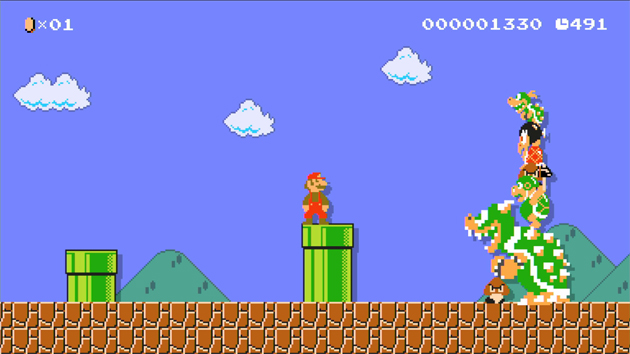 Take An Overview Look At Super Mario Maker