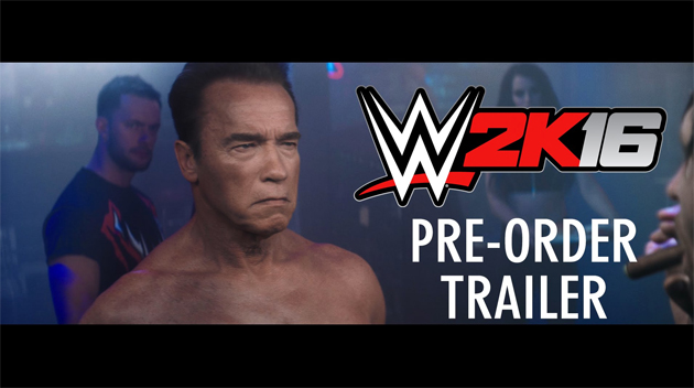 The Terminator Is Back In Gaming Form…In WWE 2K16.