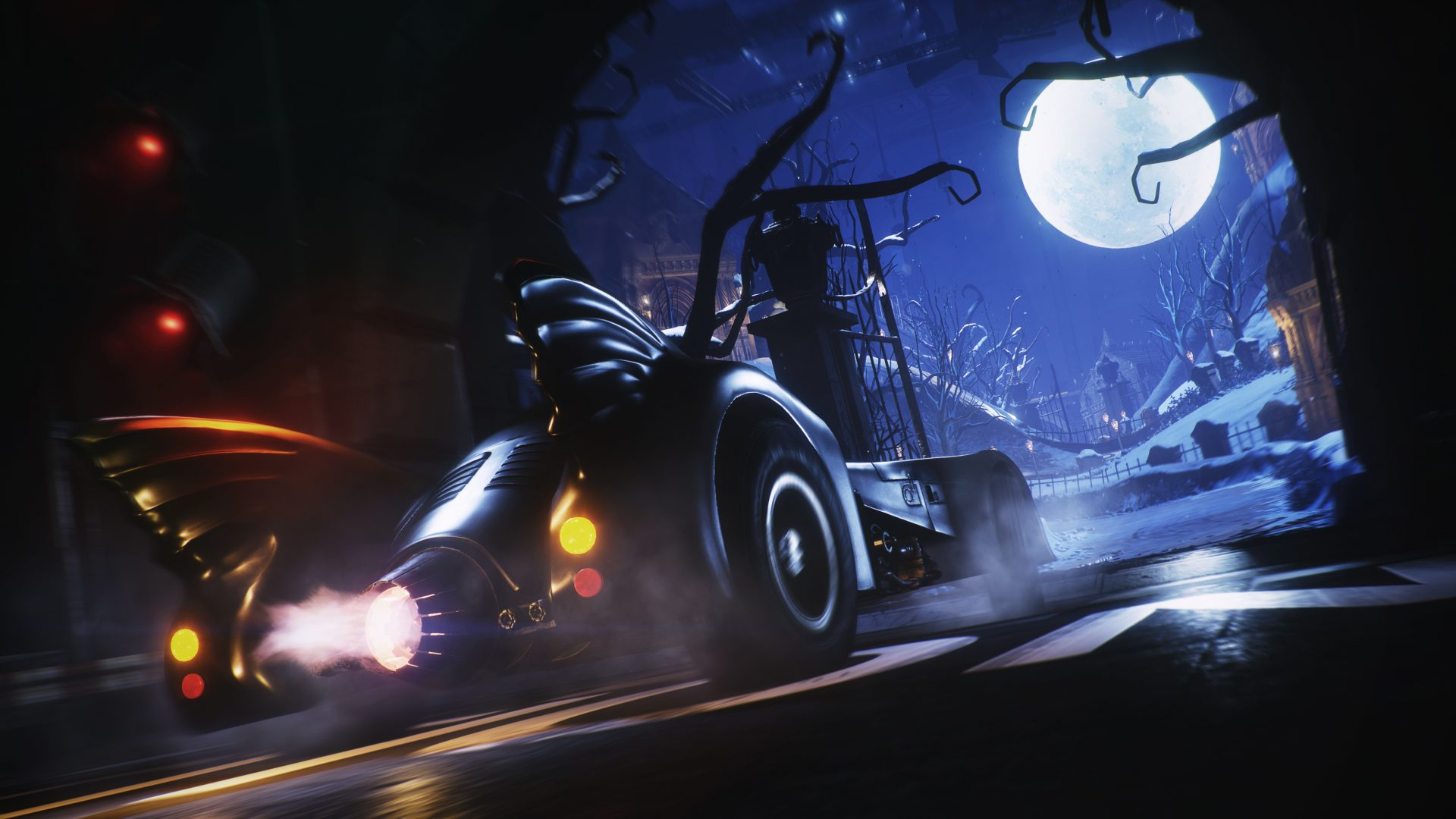 Drive the 1989 Batmobile In Batman Arkham Knight