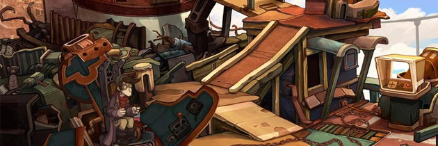 First Look At Deponia Gameplay; Release Date Announced