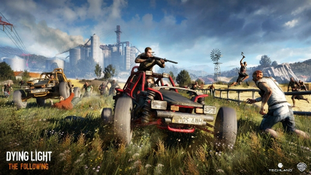 Watch Techland Stream Dying Light The Following Tomorrow