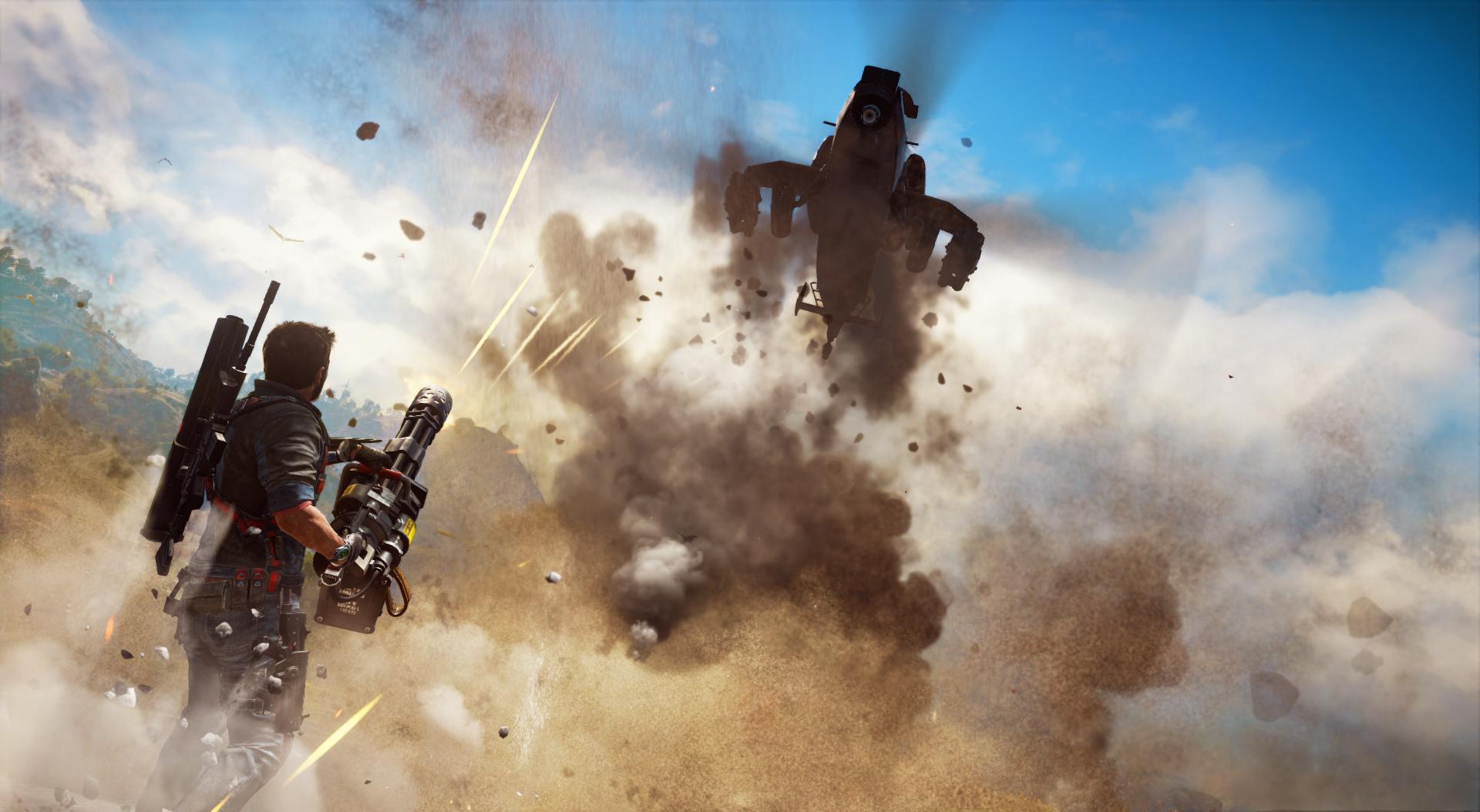 Gamescom 2015: Just Cause 3 Burn It Trailer