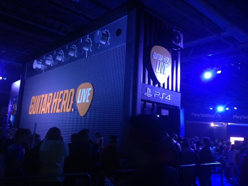 EGX 2015: Guitar Hero: Live Impressions