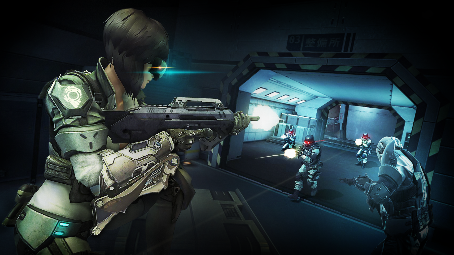 Become The Ultimate Super Soldier In First Assault Online