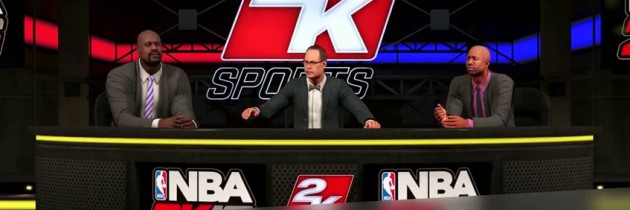 Shaq, Kenny and Ernie Bring the Funny to NBA 2K16