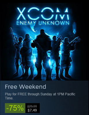Fight the Evil Alien Scourge Free this Weekend in XCOM Enemy Unknown on Steam