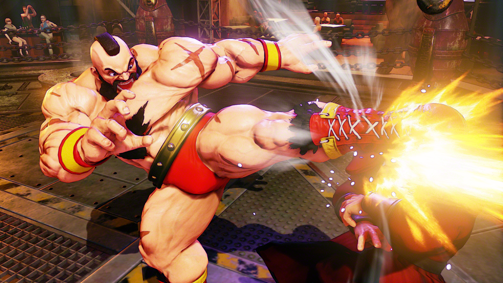 The Red Cyclone Returns In Street Fighter V