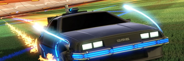 Rocket League Goes Back to the Future