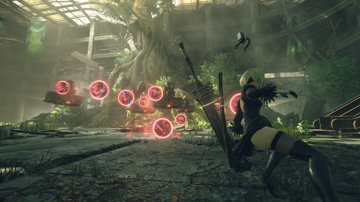 NieR: Automata Gameplay Unveiled