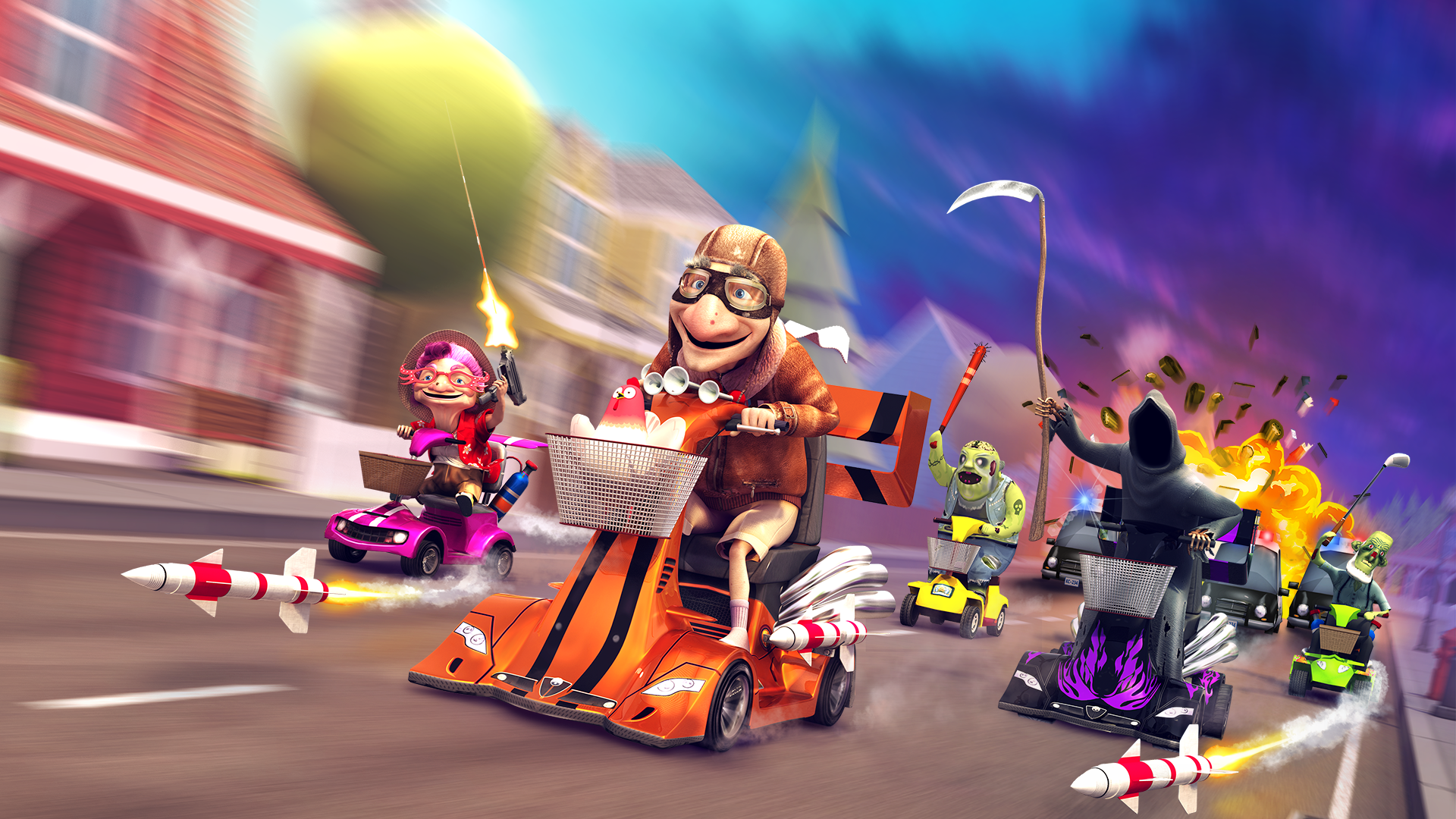 Coffin Dodgers Racing To Consoles Early 2016