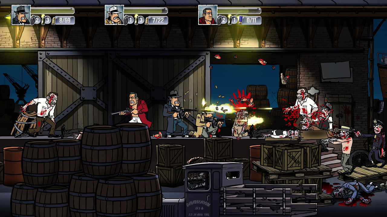 Review: Guns, Gore And Canolli