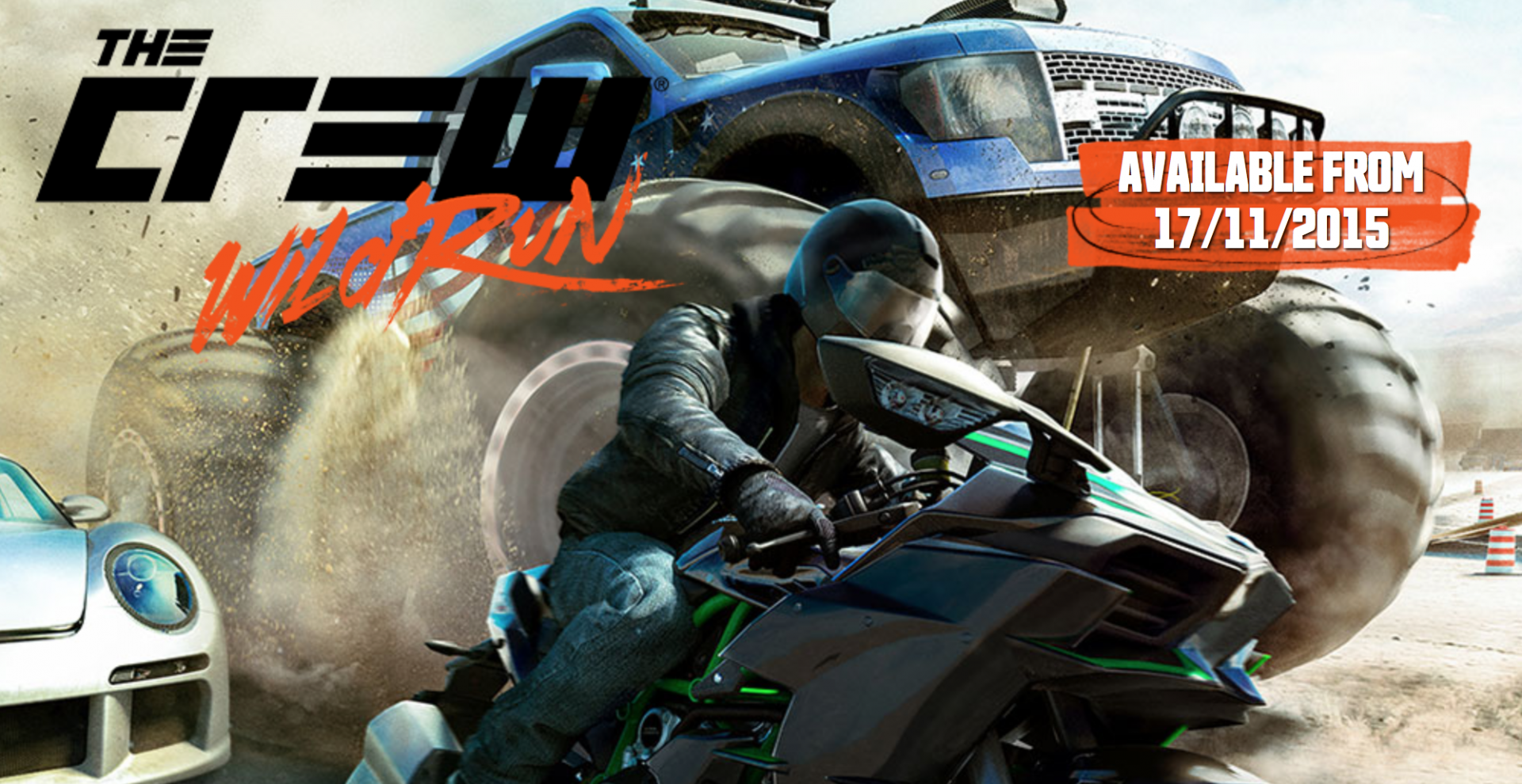 Here's When You Can Access The Crew Wild Run Beta